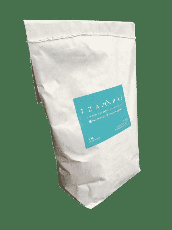 TZAMPAS Tsampa Mehl aus gerösteter Gerste