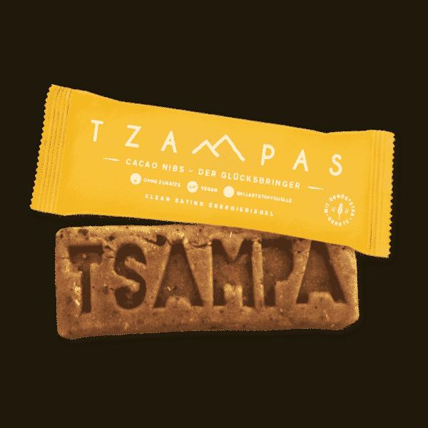 TZAMPAS Energieriegel Cacao Nibs